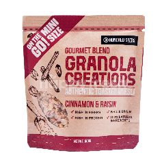 Granola Creations Original Mix Authentic Toasted Muesli Kayu Manis & Kismis