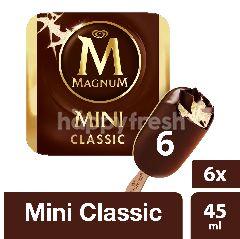 Wall's Magnum Mini Classic Ice Cream (6 Pieces)