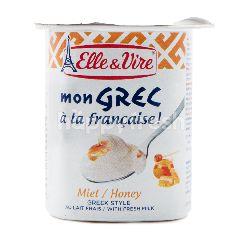 Elle & Vire Yogurt Ala Yunani Rasa Madu