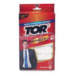 TOR Celana Dalam Pria Sekali Pakai Ukuran L