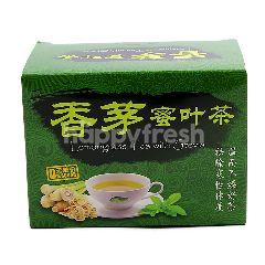 Lemongrass Herbal Lemongrass Tea With Stevia Tea (20 Tea Bags)