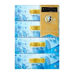 Royal Gold Thicker & Stronger For Silky Comfort Tissue