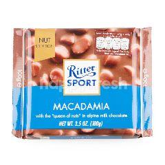 ริทเตอร์สปอร์ต ช็อกโกแลตนมผสมแมคคาเดเมีย