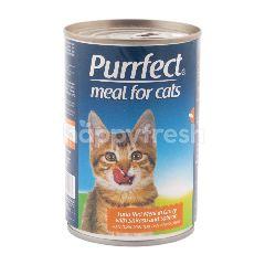 Purrfect Tuna Daging Merah dengan Shirasu