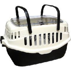 Trustie Carrier (Black With White)