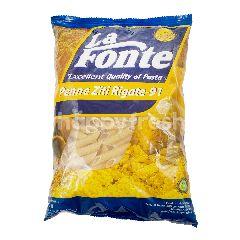 La Fonte Pasta Pene Ziti Rigate 91