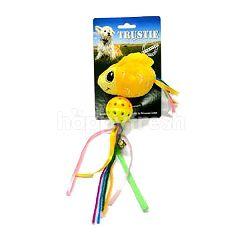 Trustie Cat Toy Fish (2Pcs) (Yellow)