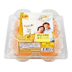 ซีพี ไข่ไก่สด ซูเปอร์ พลัส โอเมก้า (4 ฟอง)