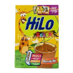 HiLo School Susu Bubuk Tinggi Kalsium Kurang Lemak Rasa Cokelat