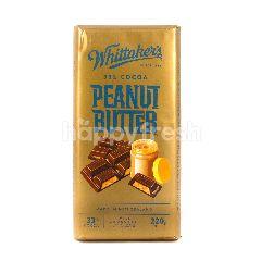 Whittaker's Cokelat Susu 33% Kakao dengan Selai Kacang