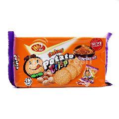 Win Win Curry Flavoured Baked Potato Crisp