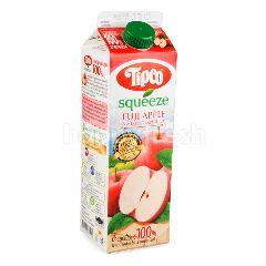 ทิปโก้ สควีซ น้ำแอปเปิ้ลฟูจิ ผสมน้ำองุ่นรวม 1 ลิตร