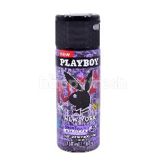Playboy New York Skin Touch Innovation Deodorant Body Spray