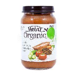 Heinz Organic Daging Sapi Lembut dan Sayuran Lembut