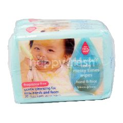 Johnson & Johnson Johnsons Baby Messy Times Wipes