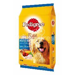 Pedigree Dog Dry Food Adult Chicken & Vegetable Flavour 10KG