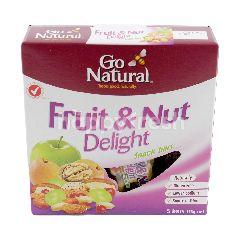 Go Natural Fruit & Nut Delight Snack Bars