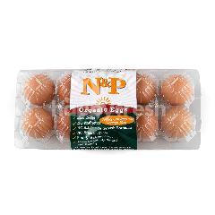 เนเชอรัล & พรีเมี่ยม ฟู้ด ไข่ไก่สด ออร์แกนิก (10 ฟอง)