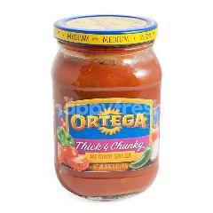 Ortega Saus Salsa Medium Kental dan Chunky