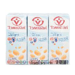 ไวตามิ้ลค์ นมถั่วเหลือง สูตรน้ำตาลน้อย 250 มล (แพ็ค 6)