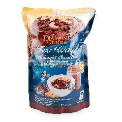 ไดมอนส์ เกรนส์ ทูเวย์ มิดไนท์ ช็อกโกแลต ธัญพืชอบกรอบ รสช็อกโกแลต ผสมมอลต์และเมล็ดเจีย