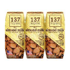 137 ดีกรี นมอัลมอนด์ สูตรอัน สวีท เทนด์ 180 มล. (แพ็ค 3)