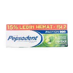 Pepsodent Action Herbal Kemasan Promo