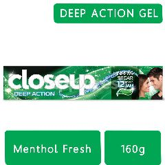 Close Up Deep Action Pasta Gigi Menthol Fresh