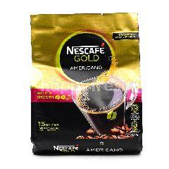 Nescafe Gold Americano Coffee(15 Sticks x 12g)