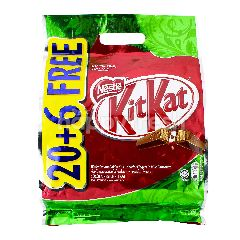 KitKat 20 + 6 Chocolate Wafer