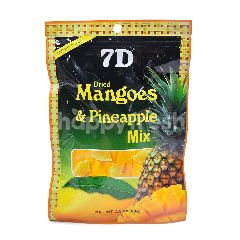 7D Dried Mangoes + Pineapple Mix