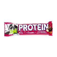 โกออน เวย์โปรตีน แครนเบอร์รี่ โกจิ & ช็อกโกแลต 50 กรัม