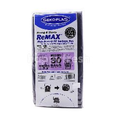 Sekoplas High Density Garbage Bag Size M (30 Pieces)