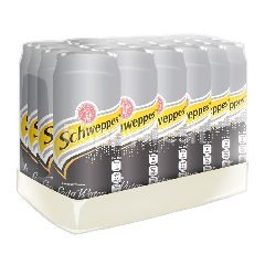 Schweppes Soda 330ml 24 Pack