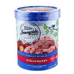Sunnyside Farms Premium Ice Cream Strawberry