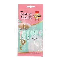 Smart Heart Tuna Flavoured Creamy Cat Treats (4 Packets)