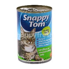 SNAPPY TOM Sardines In Smoked Salmon Jelly Cat Food