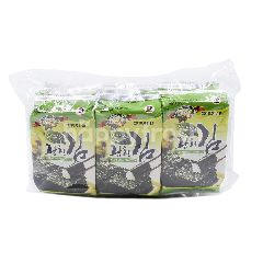 KINMORI Olive Seasoned Seaweed (9 Packets)