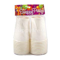 Happy Party Gelas Kertas Polo 9 Oz