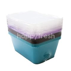 Ace Packaging 1000ml Rectangular Solid Color Box