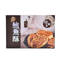 Delicious Food Cheese Abalone Shaped Pastries (8 Pieces)