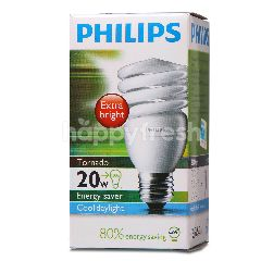Philips Tornado Bulb 20W Cool Daylight