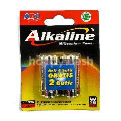 ABC Baterai Alkaline LR03
