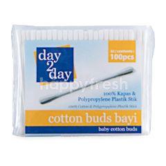 Day 2 Day Cotton Buds Bayi