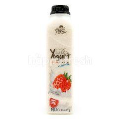 Farm Fresh Strawberries Yogurt Drink
