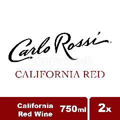 คาร์โล รอสซี่ แคลิฟอร์เนีย ไวน์แดง แพ็คคู่