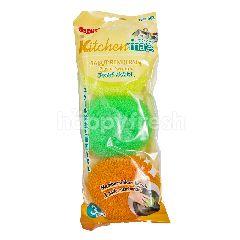 Bagus Kitchenmate Sabut Plastic Tipe 502 3pcs
