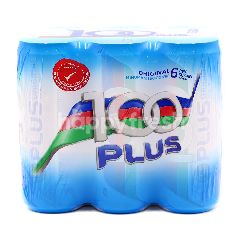 100 Plus Original Isotonic Drink (6 Cans)