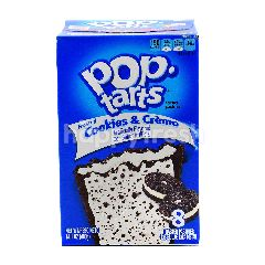 Pop Tarts Frosted Cookies & Creme Toaster Pastries