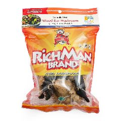 Rich Man Jamur Bokji Hitam dan Putih Kering